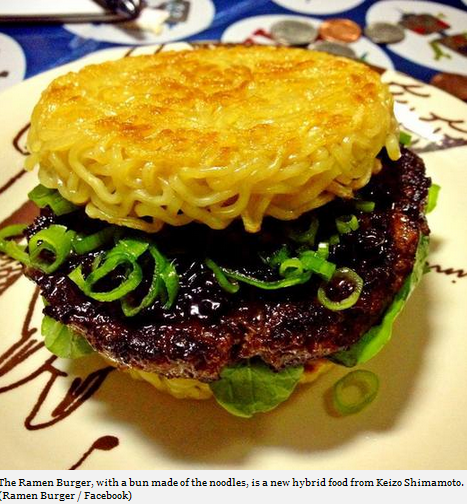 Ramen Burger Ramen Burger Is The Next Food Craze