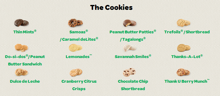 tis the season for girl scout cookies   foodwanderer